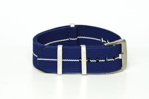elastic Nato in den Farben blau und weiß