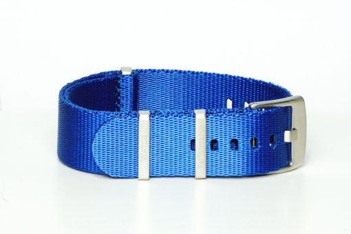 Seatbelt Uhrenarmband in der Farbe blau