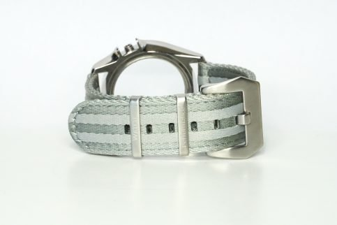 Split Nato Strap in grau 22 mm