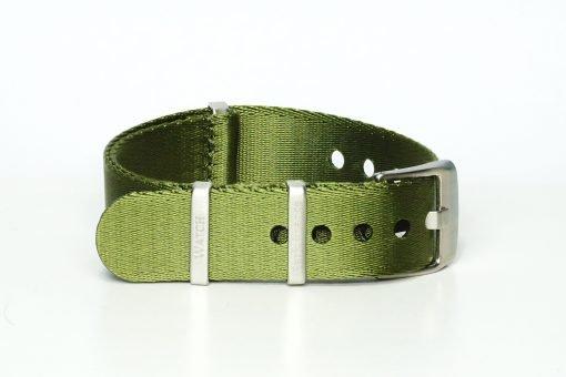Seatbelt Uhrenarmband in der Farbe grün